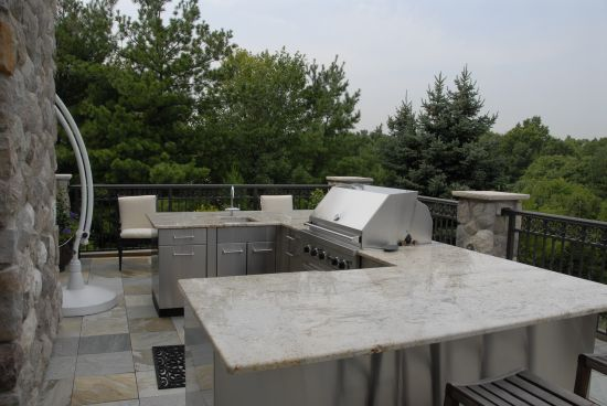 Bbq fireplace for Outdoor kitchen designs nj