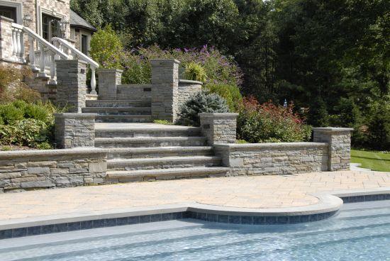 Stone Steps Build Saddler River NJ