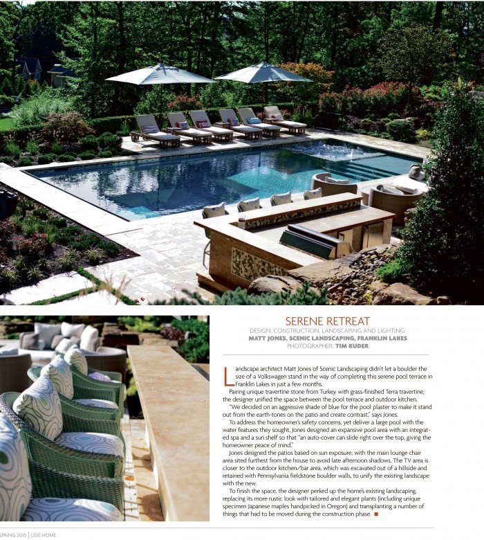 Pool Design Featured in 201 Home