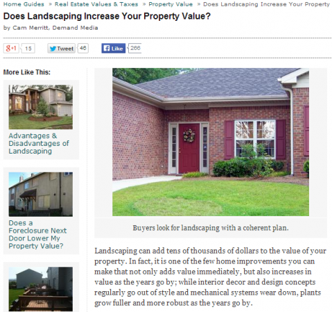 NJ Landscaping Experts can Add Curb Appeal and Maintain it as Well