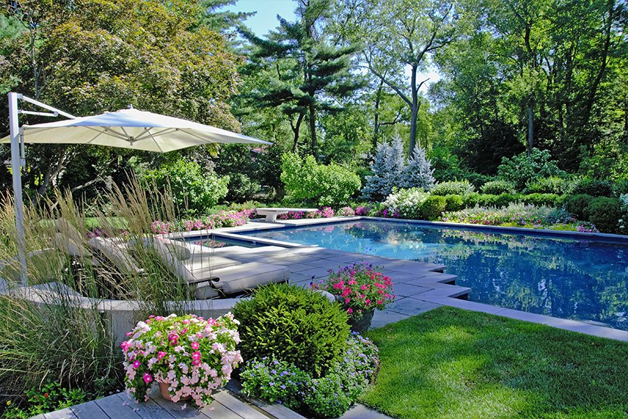 Award Winning Garden Pool Design, NJ