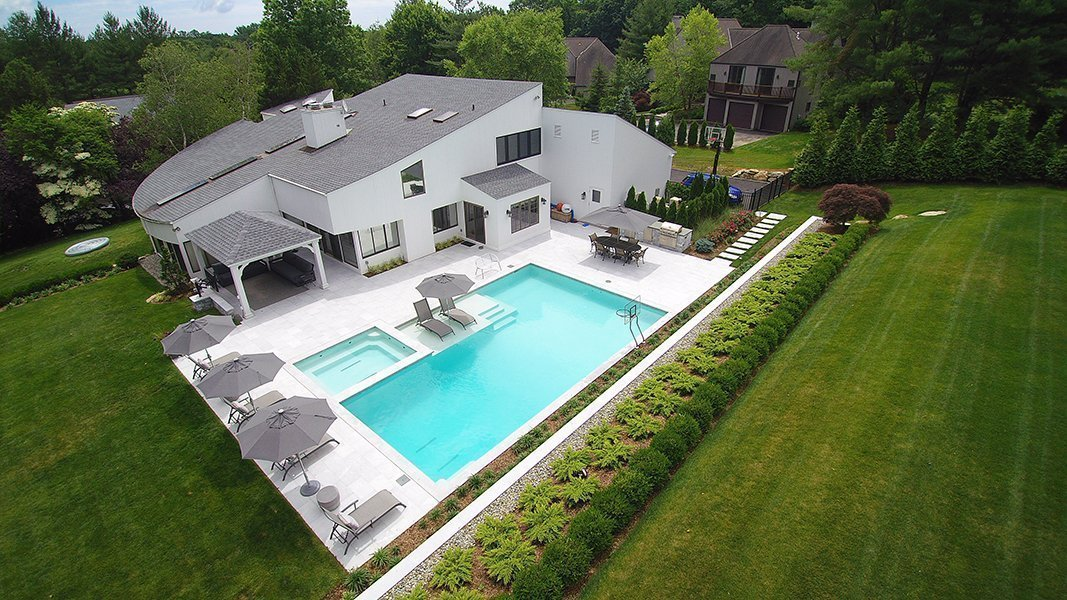 Modern Swimming Pool Design, Westchester NY