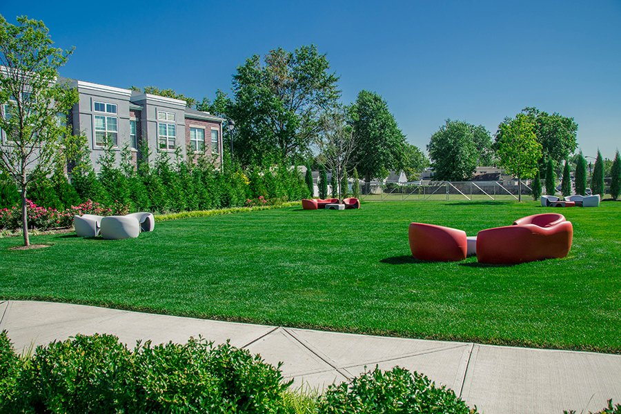 Communal Lawn Area for Residents