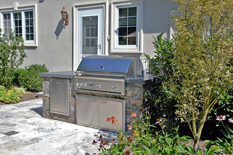 Custom Design Outdoor Kitchen NJ
