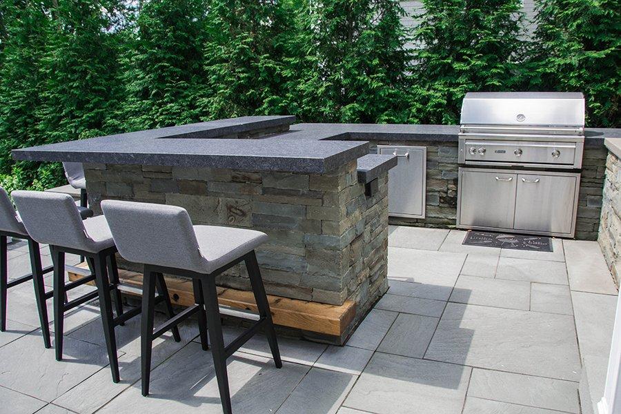 Custom Outdoor Kitchen Westfield NJ