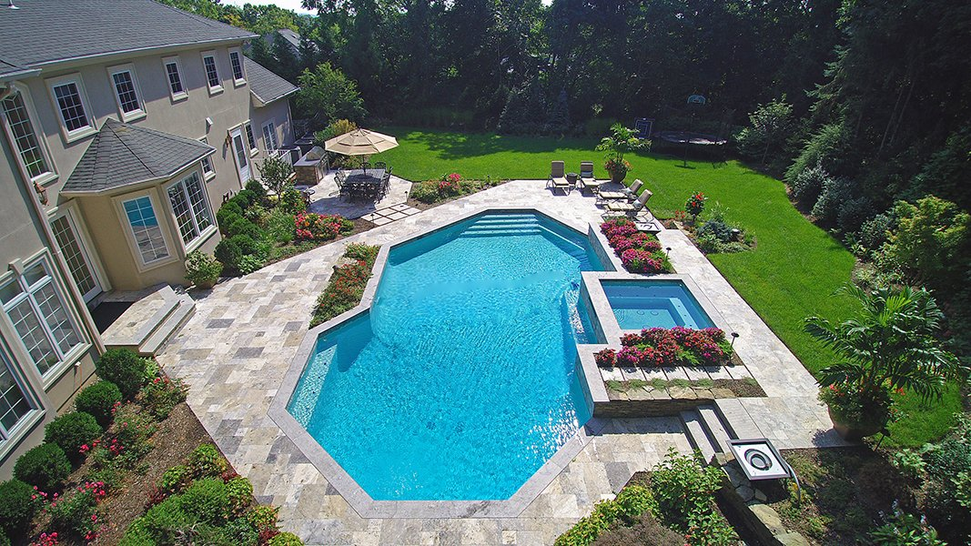 Expansive Pool and Patio Area for Entertaining