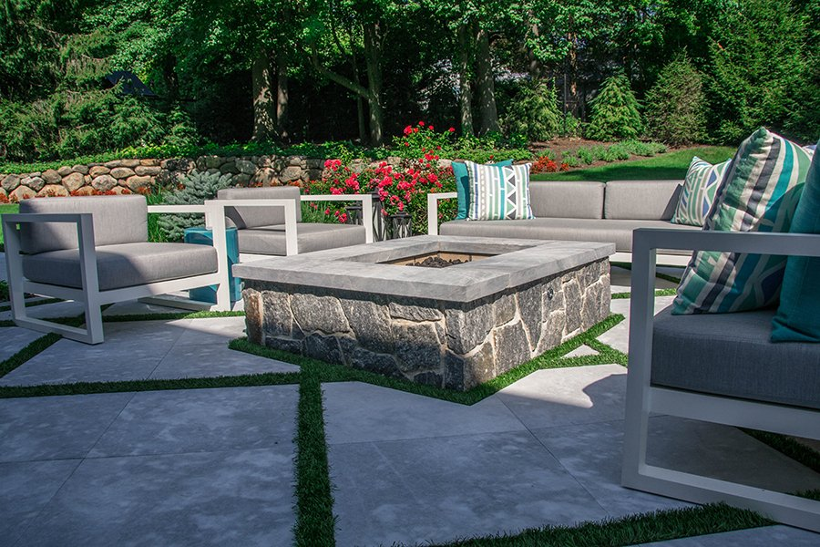 Fire Pit Seating Area Wyckoff NJ