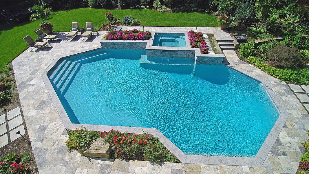 Freeform Large Inground Swimming Pool