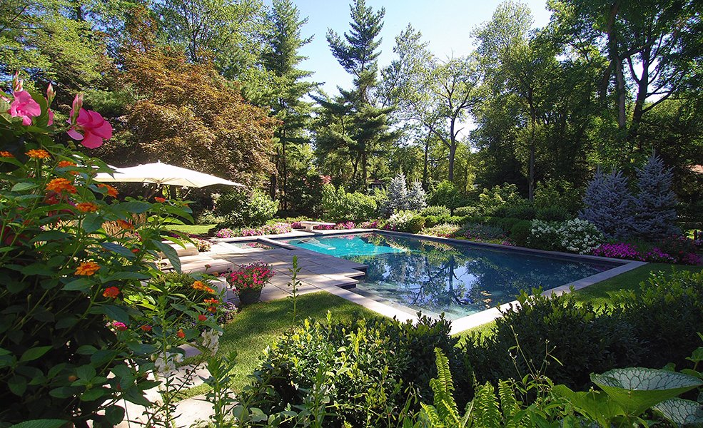 Garden Property Pool and Spa Design, NJ