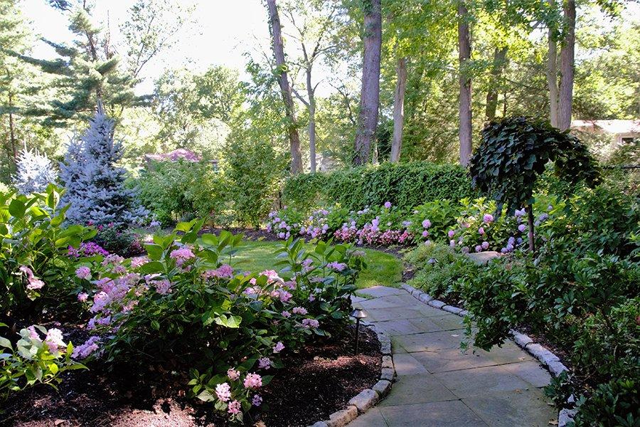 Garden Walkway Design, Closter NJ