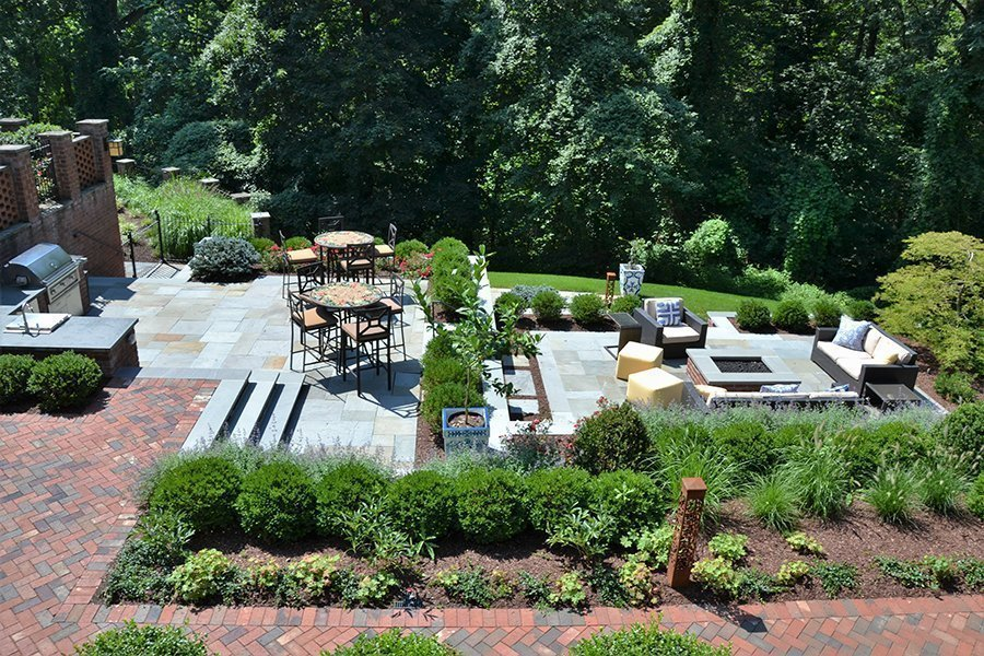 Landscape and Outdoor Living Estate, Bernardsville NJ