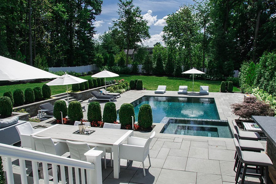 Outdoor Living Pool and Spa Design, Westfield, NJ