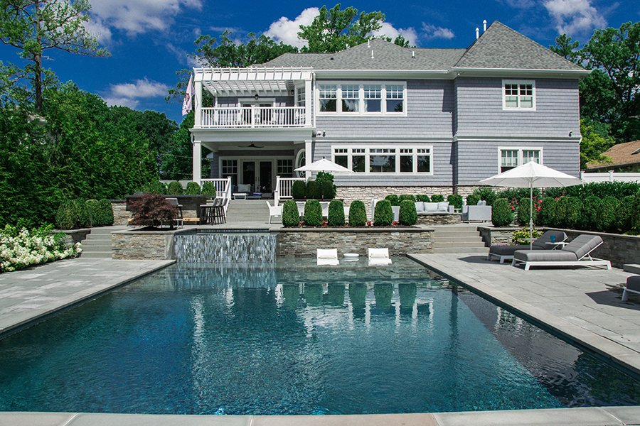 Outdoor Living with Pool and Spa Design