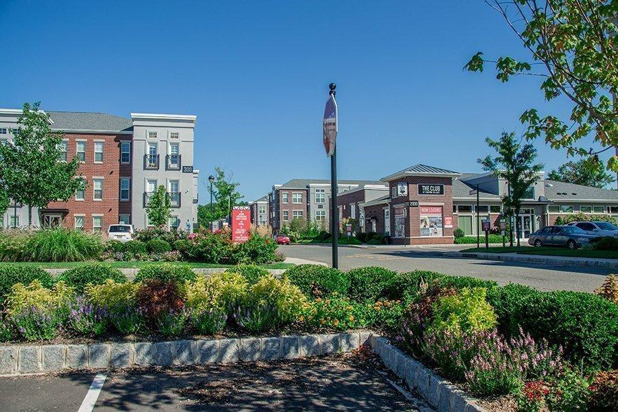 Landscape Design at Station Village, Avenel NJ