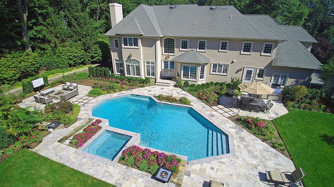 Pool and Spa Renovation in Woodcliff Lake, NJ