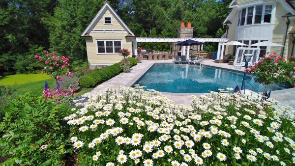 Simple Pool Landscaping for Your Property