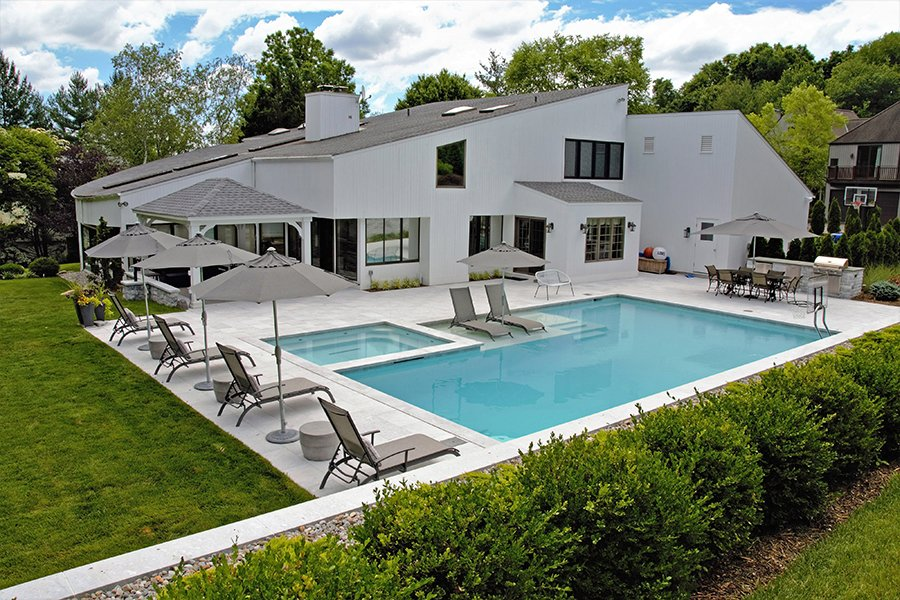 Westchester NY Pool and Landscape Design