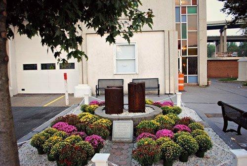 Mum Display 9/11 Memorial