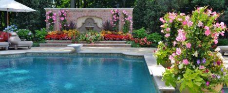 pool gardening