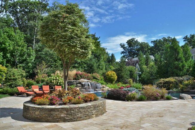 Award winning backyard pool design, Wyckoff