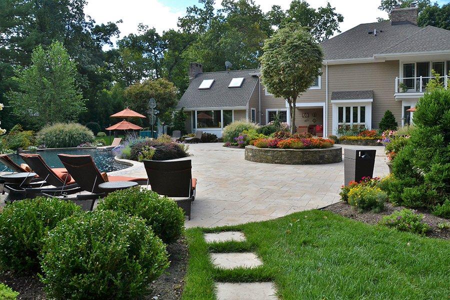 Backyard Pool and Patio Design