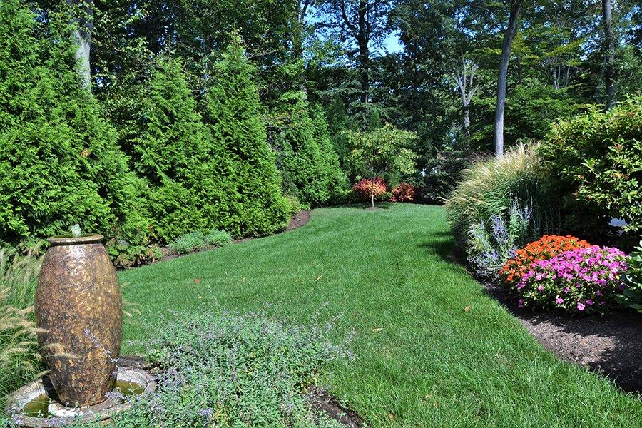 Landscape Garden with Fountain, NJ
