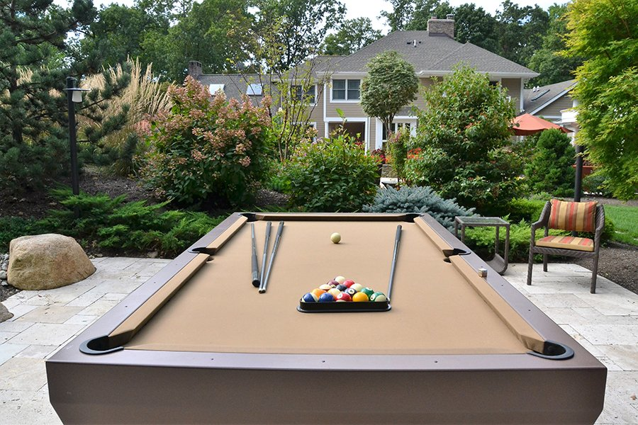Outdoor Pool Table, NJ