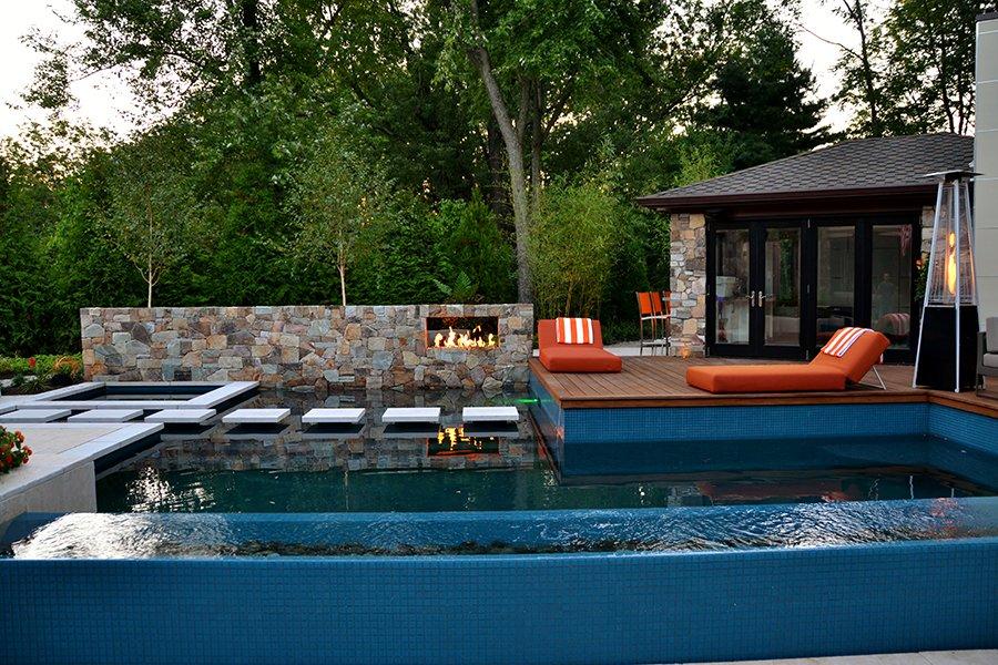 Poolside Cabana, NJ