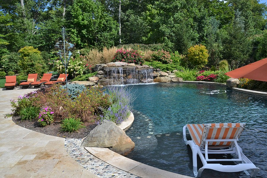 Sun Deck Swimming Pool Design