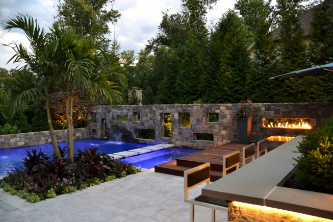 Outdoor Living Pool Space NJ