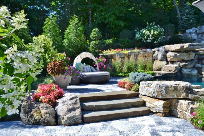 Poolside Garden Design NJ