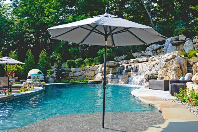 Tanning Ledge Pool Design, NJ
