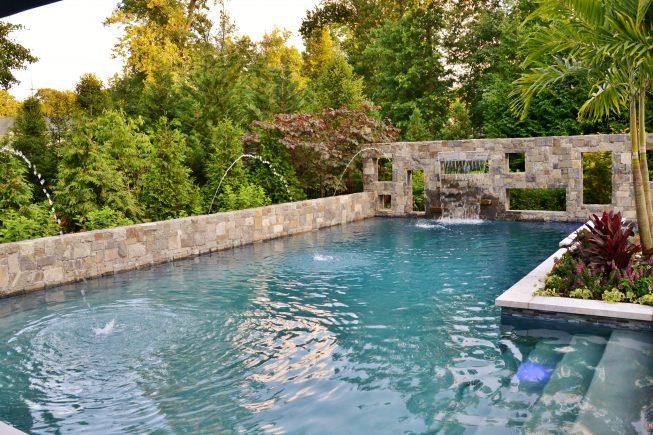 Modern Custom Inground Pool, NJ