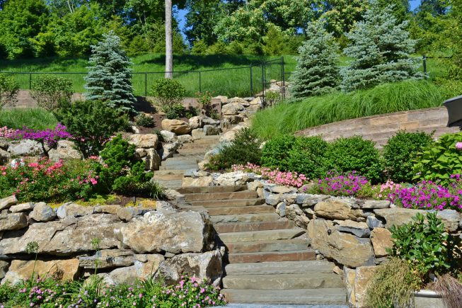 Landscaping and Hardscaping Slope Design