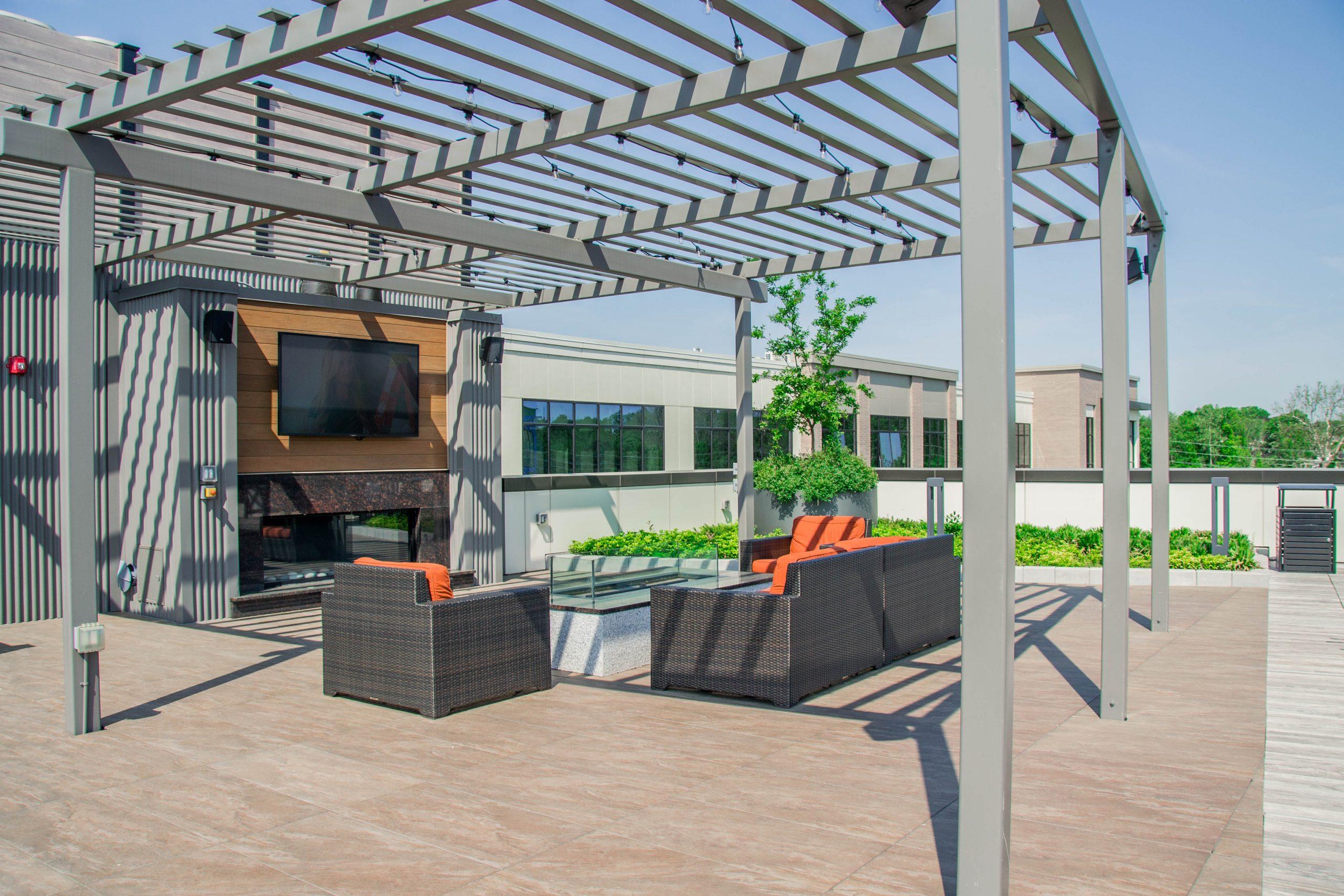 Apartment Complex Rooftop Design, Union NJ