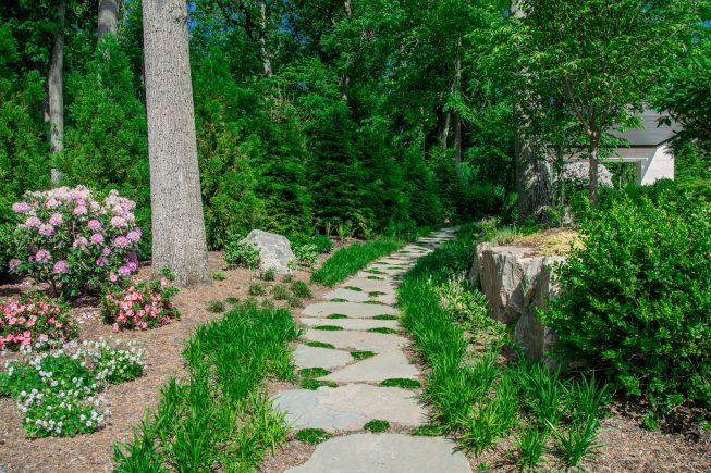 Stone Walkway Design